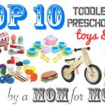 Our Top 10 Toddler & Preschooler Christmas Gifts for 2013