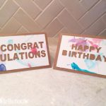 Silhouette Project: Kid's Watercolor Birthday & Greeting Cards