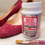 The End To Glitter Shedding Shoes