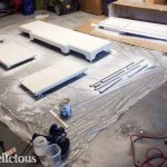 Painted Buffet Re-do for the Living Room – PART 1