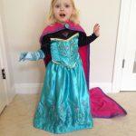 Whipping Up a DIY Homemade Frozen Elsa Coronation Costume