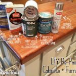 Before & After DIY Kitchen Island Paint Update