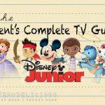 Parent's Complete TV Guide to Disney Junior