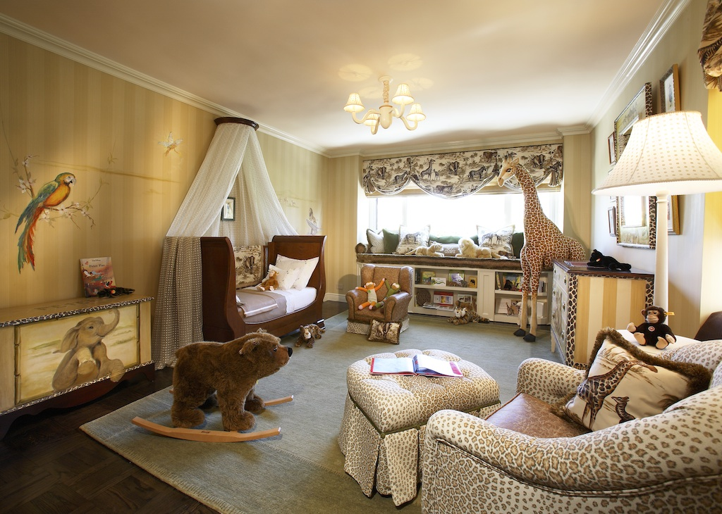 Get the Look: An Elegant Jungle Nursery or Big Kid's Room ...